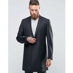 Hart Hollywood by Nick Hart Smart Overcoat - Black