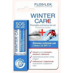 Floslek Winter Care - Zimowa pomadka do ust ochronna
