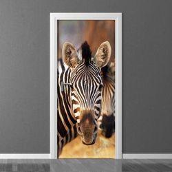 fototapeta na drzwi zebra 136