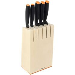 Zestaw noży FISKARS Zestaw noży FISKARS w bloku Functional Form (5 elementów) Biały