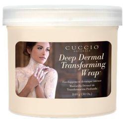 Cuccio DEEP DERMAL TRANSFORMING WRAP Maska regenerująca z żywokostu (908 ml)