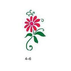 Szablon do błyszczącego tatuażu Fengda 04-06