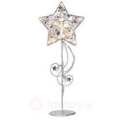 lampa dekoracyjna LED HAGABERG w kształcie gwiazdy