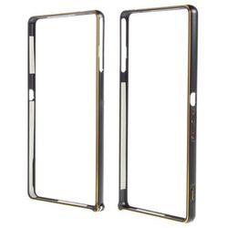 Obudowa Zolti Bumper Case Sony Xperia M4 Aqua Czarna - Czarny