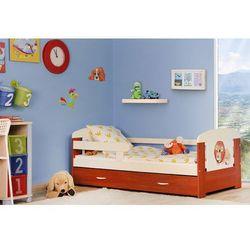 Łóżko parterowe Flip 140x80 + szuflada