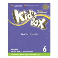 Kid's Box 6 Teacher's Book British English - Frino Lucy, Williams Melanie, Nixon Caroline, Tomlinson Michael (opr. miękka)