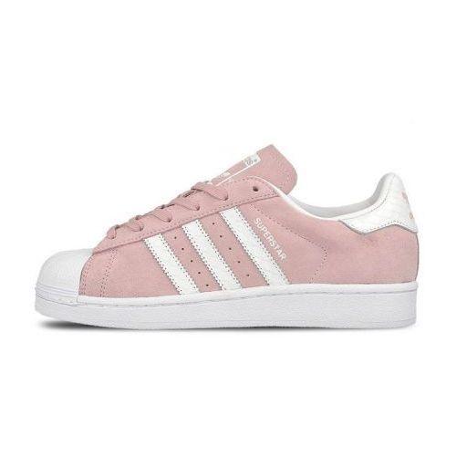 superstar adidas damskie różowe
