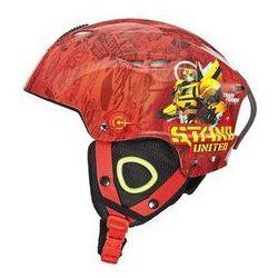 Kask narciarski Transformers M czerwony