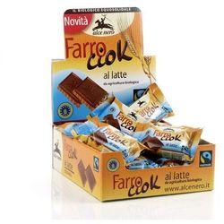 Herbatniki orkiszowe z mleczną czekoladą 28g