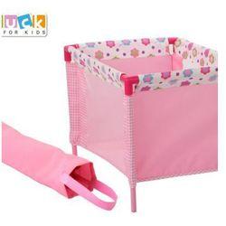 Łóżeczko dla lalek Spring Pink