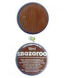 Farba do malowania twarzy Snazaroo 18ml JASNY BRĄZOWY