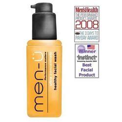 men-u męski antybakteryjny żel do mycia twarzy koncentrat 100ml Mens Health produkt roku