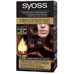 Syoss Oleo Intense Farba do włosów nr 5-28 Głęboki Kasztan
