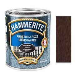 Farba Prosto Na Rdzę - Efekt Młotkowy Ciemnoniebieski 0,7L Hammerite