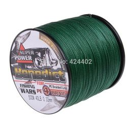 500M Brand Feihong 4 strands Japan Multifilament 100% PE supper strong Braided Fishing Line 6LB -80LB