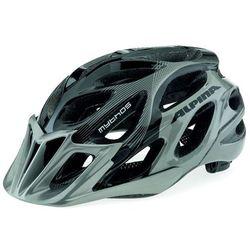 ALPINA Mythos 2.0 - Kask rowerowy, 57-62cm - Black-White Lines (57-62cm)