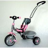 Milly Mally, Boby, rowerek 3-kołowy, różowy Darmowa dostawa do sklepów SMYK
