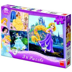 DINO 3x55 EL. Disney, Księżniczki