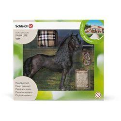 Schleich Zestaw do pielęgnacji Koń fryzyjski