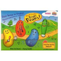 Wesołe fasolki (Bright Beans) Kurs języka angielskiego. Kuferek (4 książeczki + 4 płyty CD)