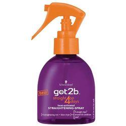 GOT2B 200ml Straight on 4 days Spray do prostowania włosów