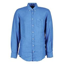Koszule z długim rękawem Gant THE LINEN SHIRT