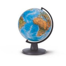 Mini Globe fisico globus 16 cm
