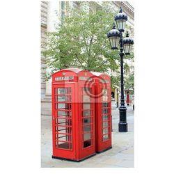 Plakat Londyn znany public budka telefoniczna