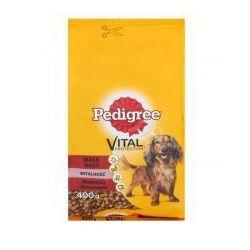 Pedigree Vital Protection z wołowiną i warzywami małe rasy witalność karma pełnoporcjowa 400 g
