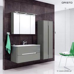 Meble łazienkowe Silver w kolorze Szarym|Transport gratis!