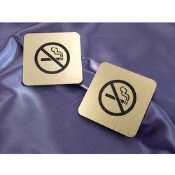 Zakaz palenia papierosów - tabliczka 80x80mm