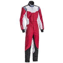 Kombinezon dziecięcy Sparco KS-5 czerwony (homologacja CIK FIA)
