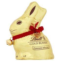Króliczek czekoladowy Lindt - Gold Bunny 50g Mleczna czekolada