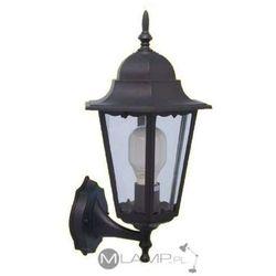 Kinkiet LAMPA elewacyjna LOZANA K-5006A Kaja zewnętrzna OPRAWA ogrodowa IP44 outdoor czarny