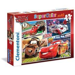 Puzzle SuperColor Maxi Auta 24