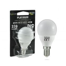 Żarówka SANICO 303158 Polux E14 G45 LED 4,5W 230V kulka biała ciepła