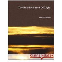 The Relative Speed of Light