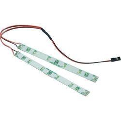 Oświetlenie dla modelu Reely, 2 paski LED, 140 x 10 x 3 mm, czerwone