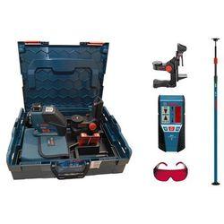 Laser liniowy Bosch GLL 3-80 P + BM1 + LR2 + statyw + okulary