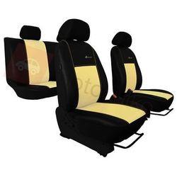 Pokrowce samochodowe EXCLUSIVE - POK-TER Skórzane Beżowe BMW Seria 1 E81/E87 2004-2013 - Beżowy