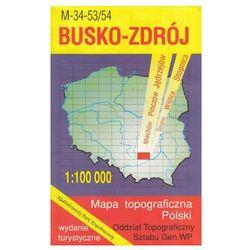 Busko-Zdrój Nadnidziański Park Krajobrazowy mapy 1:100 000 WZKart (opr. miękka)