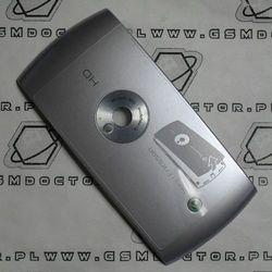 Obudowa Sony Ericsson U5i Vivaz tylna / pokrywa baterii srebrna