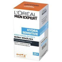 Men Expert Hydra Sensitive 25+ Krem nawilżający skóra wrażliwa 50ml