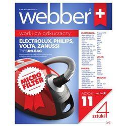 Worki do odkurzacza WEBBER Uni Bag do Philips/Electrolux (syntetyczne)