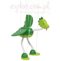 Drewniana marionetka, dinozaur Nepomuk