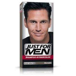 Just For Men H-55 NATURALNA CZERŃ (europejski) Odsiwiacz, Szampon 60ml