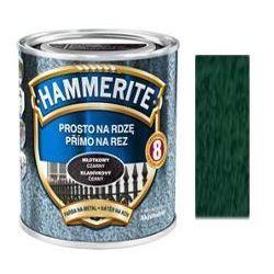 Farba Prosto Na Rdzę - Efekt Młotkowy Ciemnozielony 0,25L Hammerite