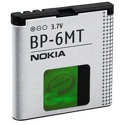 Oryginalna bateria BP-6MT - 1050 mAh - Nokia 6720 classic, E51, N81, N81 8GB, N82 Opakowanie Bulk