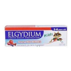 ELGYDIUM Kids pasta do mycia zębów malinowo-truskawkowy 50ml