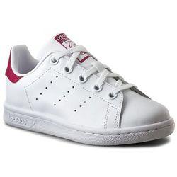 Buty adidas - Stan Smith C BA8377 Ftwwht/Ftwwht/Bopink